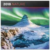 Cartoleria Calendario 2018 Natura 30 x 30 cm Erik