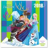 Cartoleria Calendario 2018 Disney Frozen 30 x 30 cm Erik