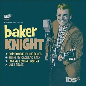 Knight, Baker - Bop Boogie to the Blues - Vinile 7''