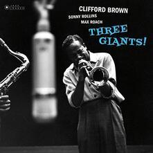Three Giants - Vinile LP di Clifford Brown