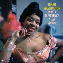 What a Difference a Day Makes - Vinile LP di Dinah Washington