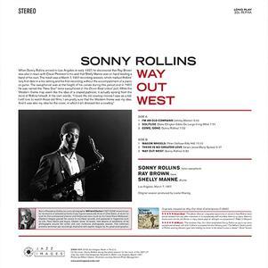 Way Out West - Vinile LP di Sonny Rollins - 2
