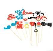 Idee regalo Love Booth. Set da 15 Trading Group