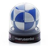 Sfera Marusenko rompicapo 3D difficoltà 1. Blu e Bianco