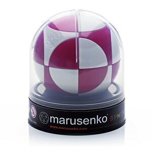 Sfera Marusenko rompicapo 3D difficoltà 1. Rosso e Bianco - 2