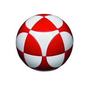 Sfera Marusenko rompicapo 3D difficoltà 1. Rosso e Bianco - 3