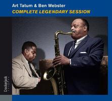 Complete Legendary Sessions - CD Audio di Ben Webster,Art Tatum