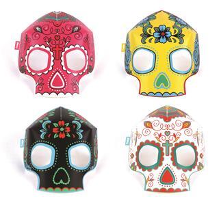 Glowing Mask Skull - 2