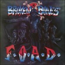 F.O.A.D - Vinile LP di Broken Bones