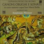 CD Canoni - Obblighi e Sonate in Varie Maniere Sopra L'ave Maris Stella Gioan Pietro Del Buono