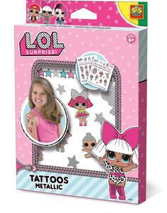 Ses 2214192. L.O.L. Surprise. Tattoos Metallic