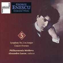 Major Orchestral Works vol.5 - CD Audio di George Enescu