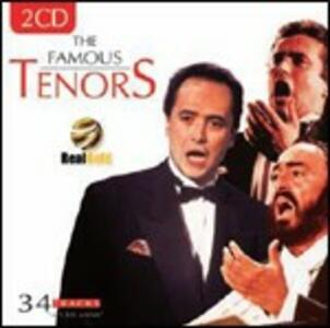 The Famous Tenors - CD Audio