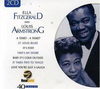 Ella Fitzgerald & Louis Armstrong - CD Audio di Louis Armstrong,Ella Fitzgerald
