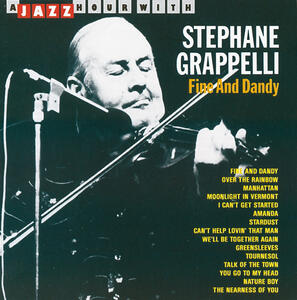 A Jazz Hour with - CD Audio di Stephane Grappelli