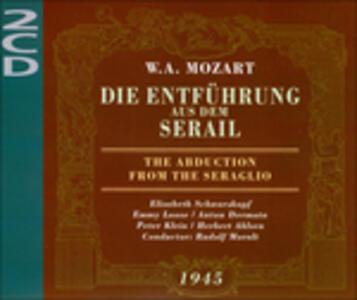 Il Ratto Dal Serraglio - CD Audio di Wolfgang Amadeus Mozart