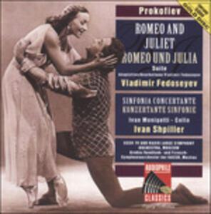 Romeo and Juliet Suite op - CD Audio di Sergej Sergeevic Prokofiev