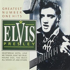 Greatest Number One Hits - CD Audio di Elvis Presley