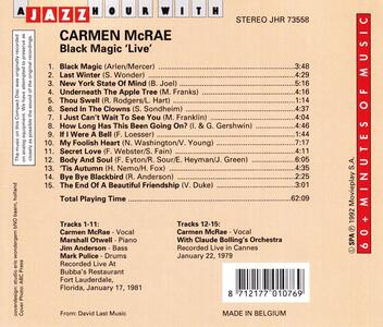 A Jazz Hour with - CD Audio di Carmen McRae - 2