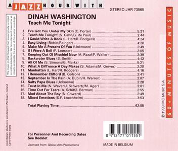 A Jazz Hour with - CD Audio di Dinah Washington - 2