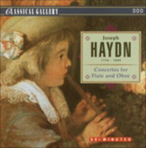 Concertos for Flute & Obo - CD Audio di Franz Joseph Haydn