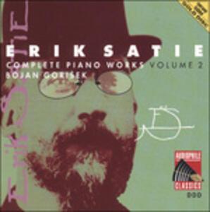 Musica per pianoforte vol.2 - CD Audio di Erik Satie