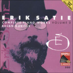 Musica per pianoforte vol.3 - CD Audio di Erik Satie