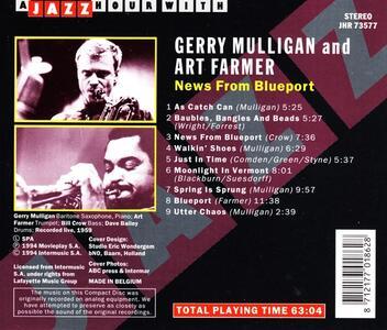 News from Blueport - CD Audio di Gerry Mulligan - 2
