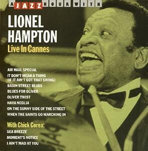 Live in Cannes - CD Audio di Lionel Hampton
