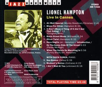 Live in Cannes - CD Audio di Lionel Hampton - 2
