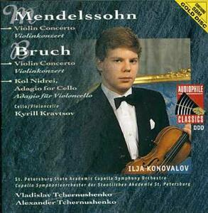 Concerti per Violino - CD Audio di Felix Mendelssohn-Bartholdy,Max Bruch