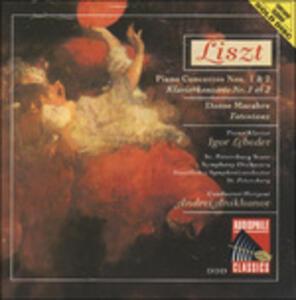 Pianoconcertos 1 & 2 - CD Audio di Franz Liszt