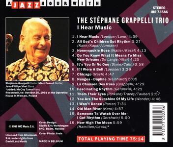 I Hear Music - CD Audio di Stephane Grappelli - 2