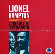 A Tribute to Louis Armstrong - CD Audio di Lionel Hampton