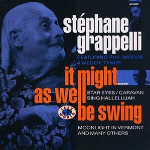 It Might as Well Be Swing - CD Audio di Stephane Grappelli