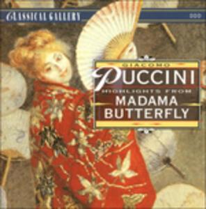 Madame Butterfly - CD Audio di Giacomo Puccini
