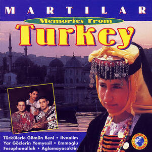 Memories of Turkey - CD Audio