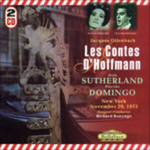I racconti di Hoffmann (Les contes d'Hoffmann) - CD Audio di Jacques Offenbach