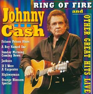 Ring of Fire and Other Great Hits Live - CD Audio di Johnny Cash