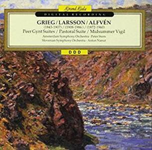 Suites e Rapsodie Famose - CD Audio di Edvard Grieg,Lars-Erik Larsson
