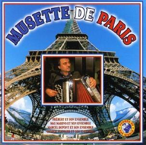 Musette de Paris - CD Audio