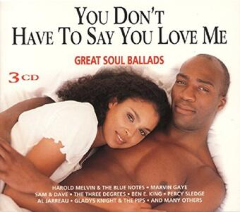You Don't Have to Say - CD Audio