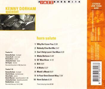 Horn Salute - CD Audio di Kenny Dorham - 2