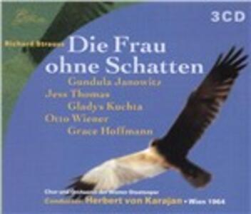 La donna senz'ombra (Die Frau ohne Schatten) - CD Audio di Richard Strauss