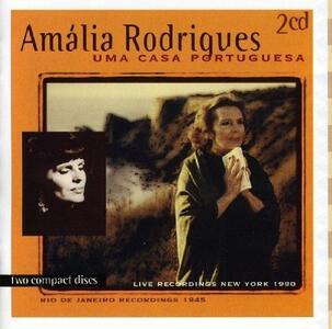 Uma Casa Potuguesa - CD Audio di Amalia Rodrigues