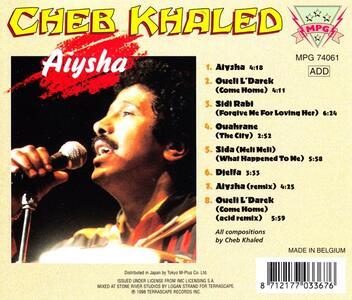 Aiysha - CD Audio di Cheb Khaled - 2