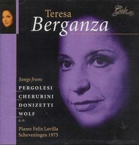 Songs - CD Audio di Giovanni Battista Pergolesi