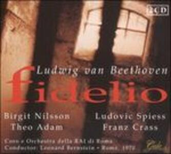 Fidelio - CD Audio di Ludwig van Beethoven,Leonard Bernstein,Birgit Nilsson,Theo Adam,Franz Crass,Orchestra Sinfonica RAI di Roma