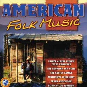 American Folk Music - CD Audio