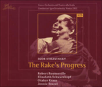 Rake's Progress - CD Audio di Igor Stravinsky